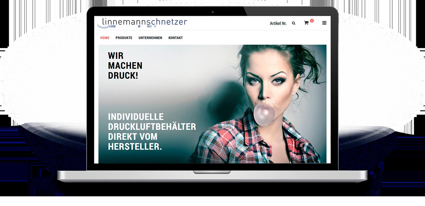 Webshop für Druckluftbehälter - Linnemann Schnetzer aus Hamm