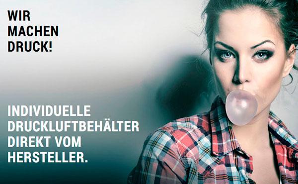Webshop für Druckluftbehälter der Firma Linnemann Schnetzer aus Hamm