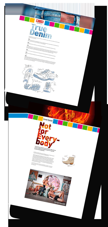 Webdesign für die Tendenza GmbH Ahlen