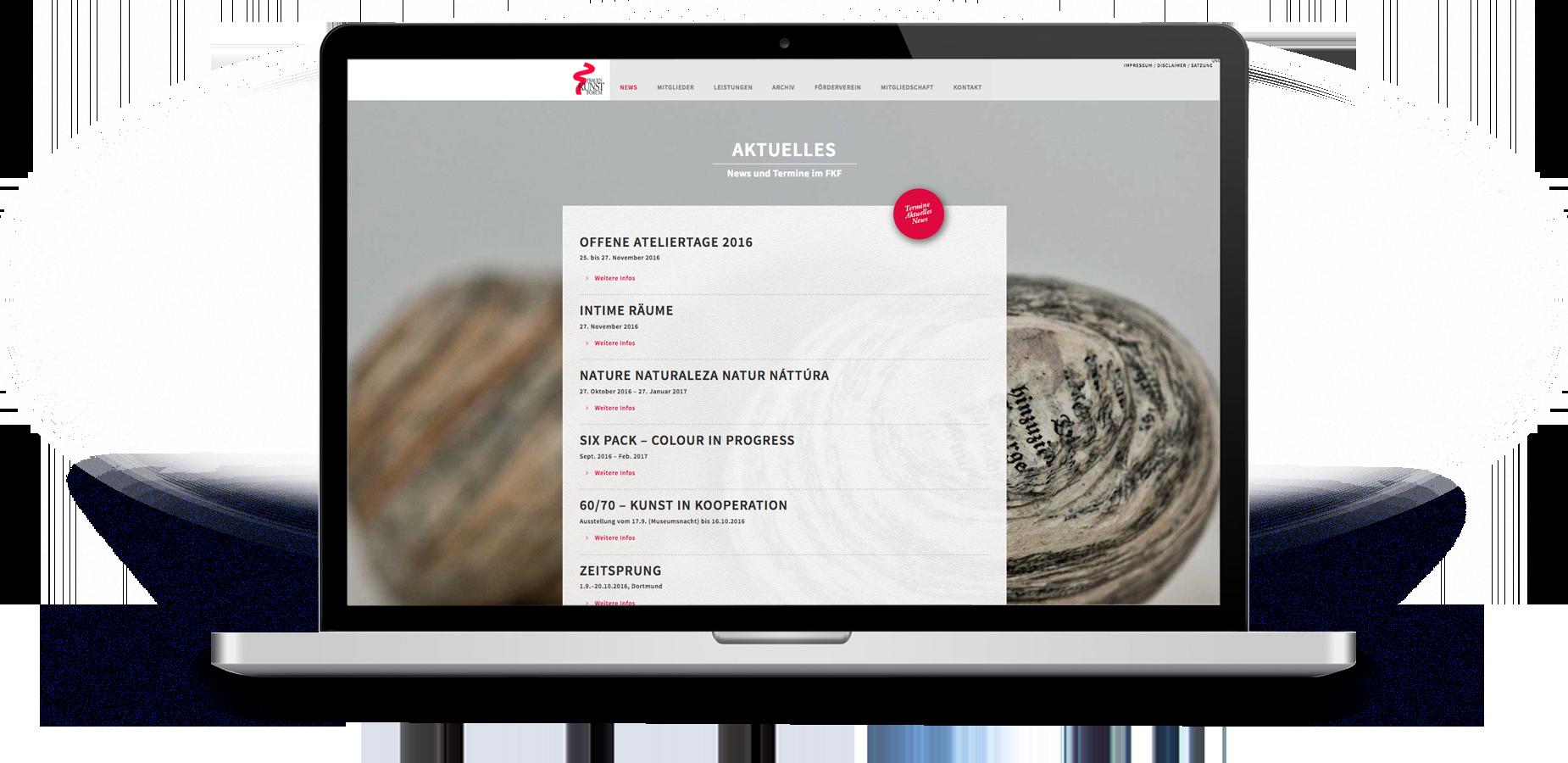Webdesign für das FKF Südwestfalen e. V.