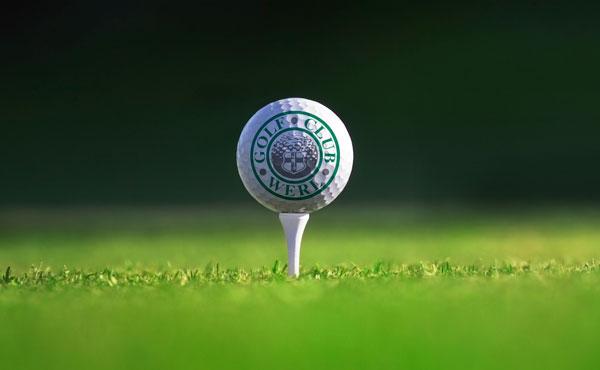 Illustrationen und Infomaterialien für den Golf Club Werl e.V.